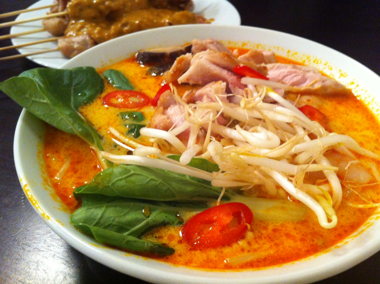 coconut laksa with shrimp coconut curry noodle soup with shrimp laksa ...